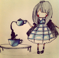 Tea pot by chriissymoon