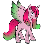 DragonFruit Alicorn Adopt - Closed by Piyos-Adoptables