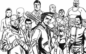 GTA 3 by Megalomaniacaly