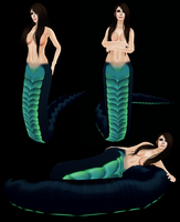 Naga Tail - Second Life by bugtrot
