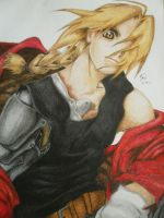 Edward Elric by jamdraw