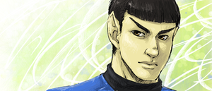 oh hey Spock by Nomnomroko