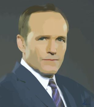 Agent Coulson by Darrixhuntress
