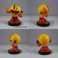 Pacman Blue Alt by ChibiSilverWings