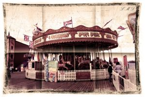 Brighton carousel by Suckstobeyourgirl