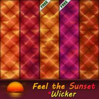 Feel the Sunset - Wicker by allison731