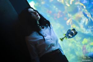 Burial at Sea I by andreamakesthings