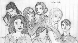 BAMF Ladies of the Marvel Movies by MizzAdorkable