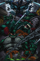 Teenage Mutant Ninja Turtles by Dark-Razvan