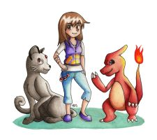 Pokemon Trainer Rhea by KGScribbles