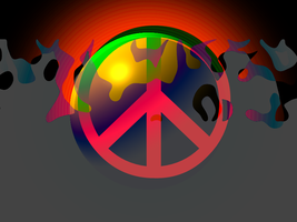 Burning Desire For Peace by TornadoZX17