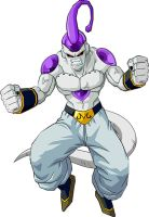 Majin Buu Absorcion Freezer by theothersmen