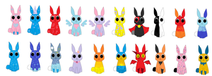 bunny adoptables by candyland21