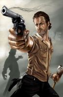 Rick Grimes-by AJ Moore by GudFit