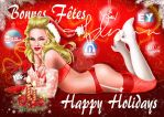 HAPPY HOLIDAYS MADONNA by YANN-X