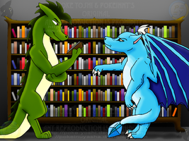 Draconic Discussion +Collab+ by Mike-Dragon