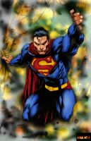 Superman  ed benes color by Mich974