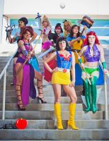 SuperHero Disney Princesses 2 by Vampire--Kitten