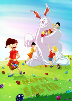 Happy Easter by AngeloCarvalho