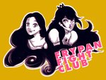 Join the FRYPAN FIGHT CLUB with Rapunzel'n Peach by WLimit