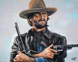Clint Eastwood - Outlaw Josey Wales by ZomBieTOmmm