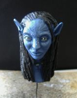 Neytiri's bust painted by valhadar