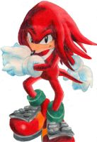 Knuckles closeup by seraph-of-enigma