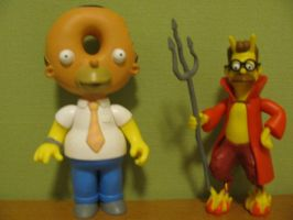 The Devil and Homer Simpson by NearRyuzaki90