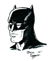 Batman Doodle by staino
