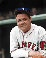 Babe Ruth braves by slr1238