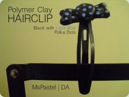 Polymer Clay Hairclip 1 by MsPastel