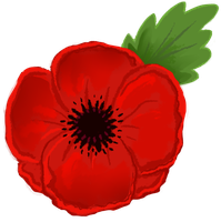 -: Wear a poppy :- by Wolvesmaycry