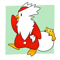 Delibird and Joltik by Lexi247