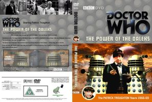 The Power of the Daleks Region 2 DVD Cover by DJToad