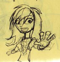 Mystra and Rover_sketches4 by Mystra-Inc