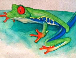 Little Frog by african-artist