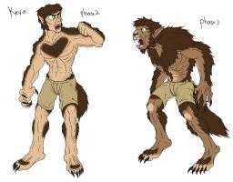 Werewolf Phase Commission 3 by demongirl99