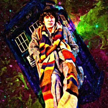 Fourth Doctor by LowBassGuy
