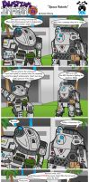 Space Robots by DairyBoyComics