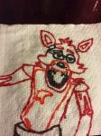 Napkin: Foxy by Lord4536