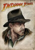 Indiana Jones by Laubi