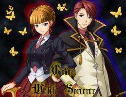 The Golden Witch and The Golden Sorcerer by DrRyo