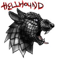 Hellhounds head by BullTerrierKa