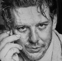 Mickey ROURKE by Sadness40