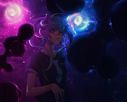 Rainy Space by ColourQ