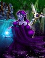Night Elf - Stars and Nature by evion