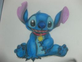 Stitch - colored by chinggay