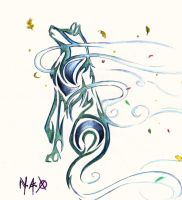 Wind Wolf 1 by Nef-the-art-Otter