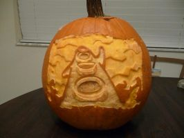 Day of the Tentacle Pumpkin 2 by ceemdee