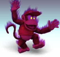 False Diddy Kong by Wolfgerlion
